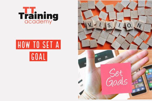 to set a goal